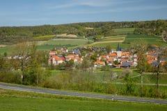 Wioska Netra w Hesse zdjęcie royalty free