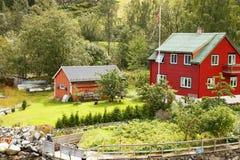 wioska norway Zdjęcie Stock