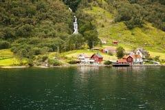 wioska norway Zdjęcie Royalty Free
