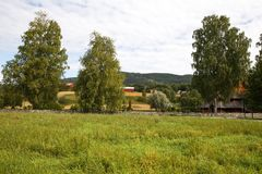 wioska norway Fotografia Stock