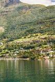 wioska norway Obrazy Royalty Free