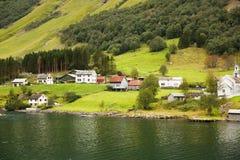 wioska norway Zdjęcia Stock