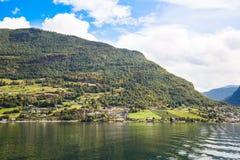 wioska norway Zdjęcia Royalty Free