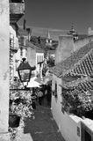 Wioska Obidos, Portugalia zdjęcia stock