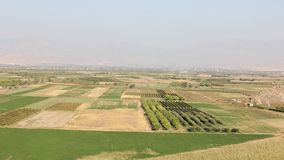 Wioska ogródy - krajobraz Obrazy Stock