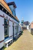 Wioska Oudeschild na Texel wyspie w holandiach Obraz Royalty Free