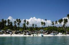 wioska plażowa Zdjęcie Stock