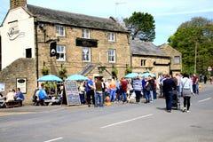 Wioska pub, Drbyshire Fotografia Stock