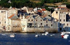 wioska śródziemnomorskiej Obraz Stock