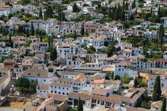 wioska śródziemnomorskiej Fotografia Royalty Free