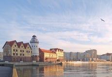 wioska Rosji Kaliningradu ryb Fotografia Royalty Free
