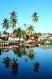 wioska rybacka zdjęcie royalty free