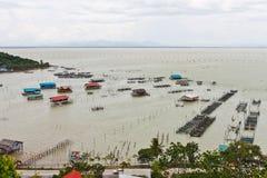 wioska rybacka Obrazy Royalty Free