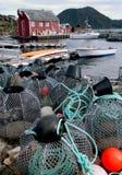 wioska rybacka Fotografia Royalty Free
