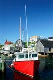 wioska rybacka Obrazy Stock