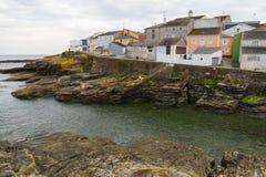 Wioska Rybacka Rinlo w Galicia Zdjęcia Royalty Free