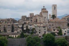 Wioska Saint Paul De Vence Zdjęcia Royalty Free
