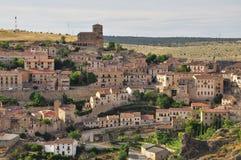 Wioska Sepulveda, Castile region. Hiszpania Zdjęcia Royalty Free
