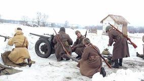Wioska Sokolovo, Kharkiv region Ukraina, Marzec, - 9: Odbudowa bitwa Drugi wojna światowa blisko zdjęcie wideo