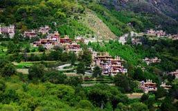 wioska tybetańskiej Zdjęcie Royalty Free