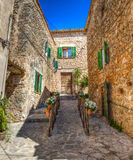 Wioska Valldemosa & x28; Mallorca, Spain& - x29; Zdjęcia Royalty Free