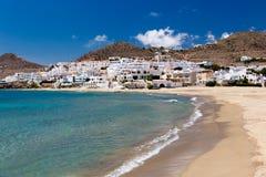 Wioska w Andalusia przy nadmorski, Cabo de Gata, Hiszpania Zdjęcia Royalty Free