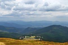 Wioska w górach Obraz Royalty Free