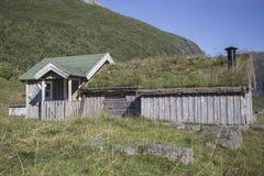 Wioska w górze, Herdal gospodarstwo rolne, Norwegia Fotografia Stock