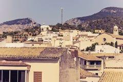 Wioska w Mallorca Obraz Stock