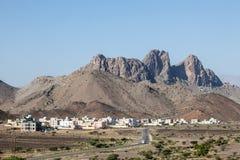 Wioska w Oman Obrazy Stock