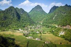 Wioska w północnym Wietnam Zdjęcie Royalty Free