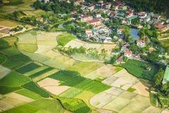 Wioska w północnym Wietnam Zdjęcia Stock
