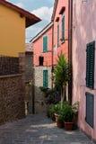 Wioska w Tuscany, montecatini alt Zdjęcie Stock