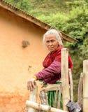 Wioski życie na zewnątrz Kathmandu, Nepal fotografia stock