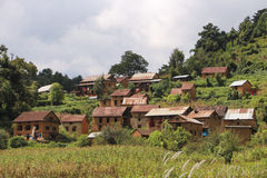wioski Zdjęcia Stock