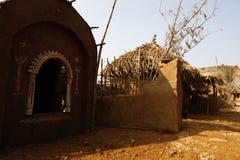 Wioski bieda mieści India obrazy royalty free