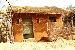 Wioski bieda mieści India zdjęcie stock