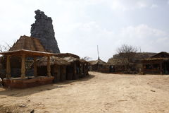 Wioski bieda mieści India zdjęcia royalty free