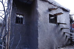 Wioski bieda mieści India fotografia royalty free