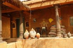 Wioski bieda mieści India obraz royalty free