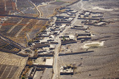 Wioski grono w Kandahar, Afganistan Zdjęcia Royalty Free