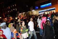 2014 wioski Halloweenowa parada 91 Obraz Royalty Free