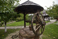 Wioski muzeum w Bucharest Zdjęcia Royalty Free