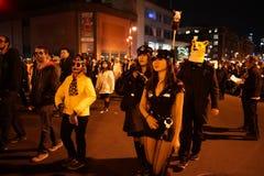 2015 wioski parady Halloweenowa część 3 51 Fotografia Royalty Free