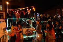 2015 wioski parady Halloweenowa część 4 35 Obrazy Royalty Free