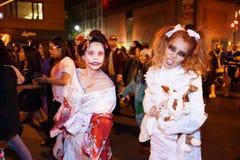 2015 wioski parady Halloweenowa część 5 6 Fotografia Stock