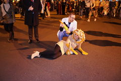 2015 wioski parady Halloweenowa część 5 34 Zdjęcie Stock