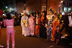 2015 wioski parady Halloweenowa część 5 67 Obrazy Royalty Free