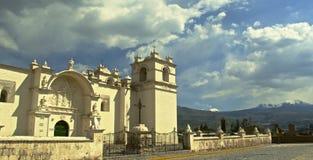 Wioski scena w Peru Fotografia Stock