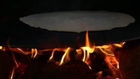 Wioski styl życia Robi chlebowi zdjęcie wideo